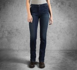 Women's Slim Boot Cut Mid-Rise Jeans