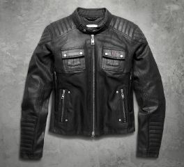 Women's Quilted Coated Denim Riding Jacket 98115-16VW