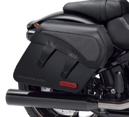 Harley-Davidson® H-D Detachables Leather Saddlebags – Pro Street Breakout 90201389
