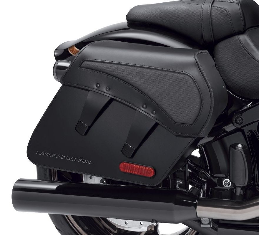 H-D Detachables Leather Saddlebags – Pro Street Breakout ...