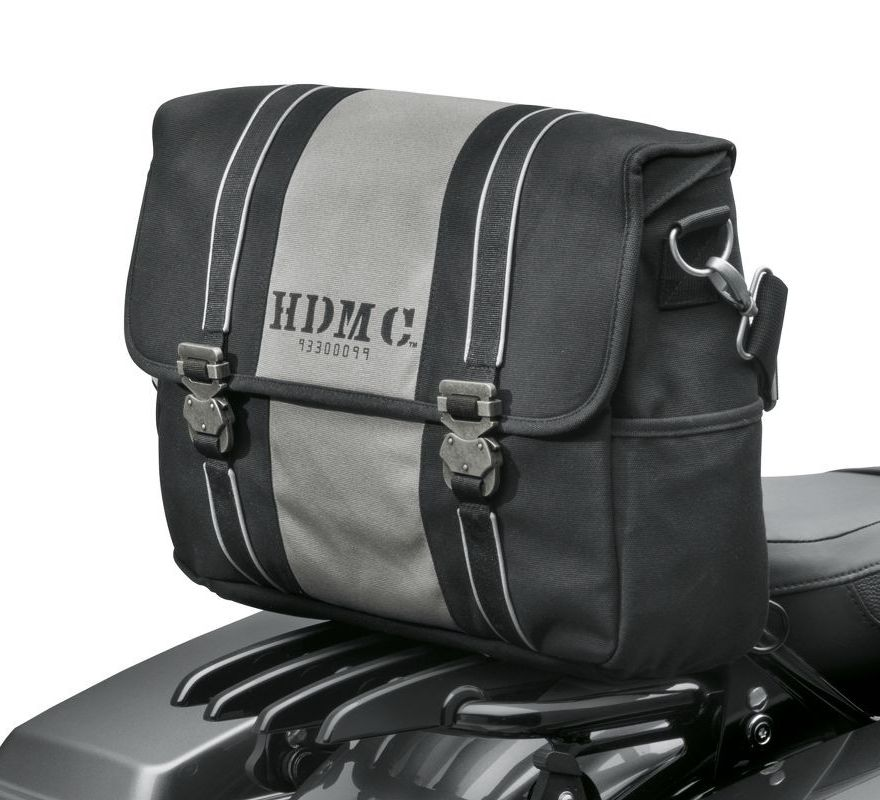 93300099 Harley Davidson 174 Hdmc Messenger Bag Black