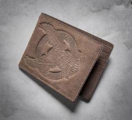Men's Eagle Distressed Wallet