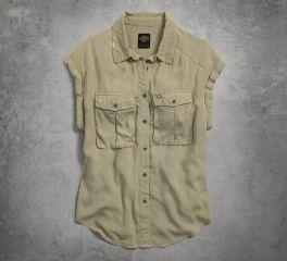 Women's Rayon Short Sleeve Shirt