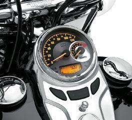 Harley-Davidson® Combination Analog Speedometer/Tachometer km/h 74775-11B