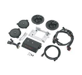 Harley-Davidson® Boom! Audio Stage I Bagger Amp & Speaker Kit - 2-Speaker 76000410A