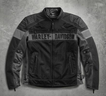 harley davidson men 39 s mecca textile mesh riding jacket. Black Bedroom Furniture Sets. Home Design Ideas