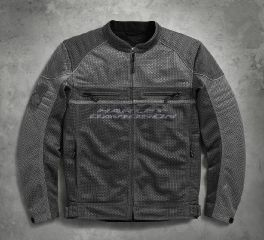 Harley-Davidson® Men's Affinity Mesh Riding Jacket 98296-17VM