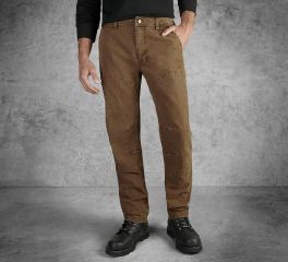 Harley-Davidson® Men's Straight Leg Fit Modern Canvas Pant 99023-17VM