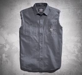 Harley-Davidson® Men's Skull Blowout Shirt 99029-17VM