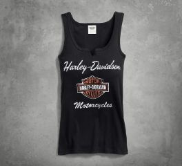 Harley-Davidson® Women's Classic Notch Neck Tank 99140-17VW