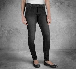 Women's Skinny Mid-Rise Jeans