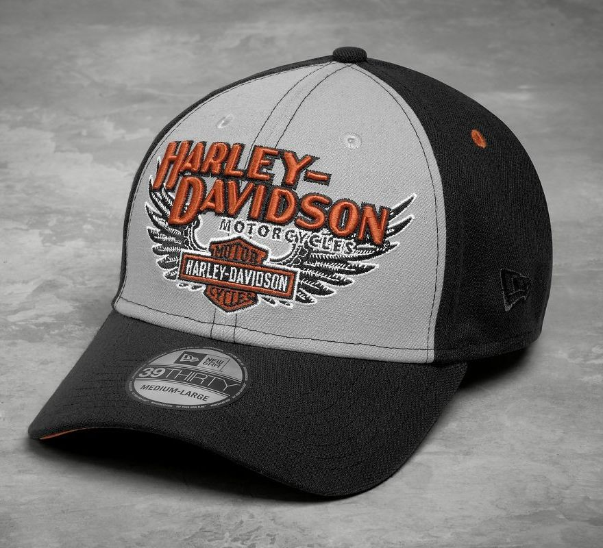 49881b0d93c30 Harley-Davidson® Men s Eagle 39THIRTY Cap 99459-17VM
