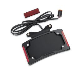 Harley-Davidson® Curved License Plate Frame with LED Lighting 67900273