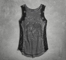 Women's Lace Inset Tank