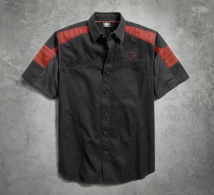 Harley-Davidson® Men's Performance Mesh Panel Shirt 96408-17VM