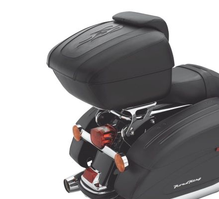 Harley-Davidson® Tour-Pak Luggage- CVO Road King Flamed Leather Styling 53057-07A