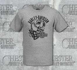 Men's Grey Road Dog Short Sleeve Tee