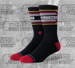 Harley-Davidson® 70's Socks Black