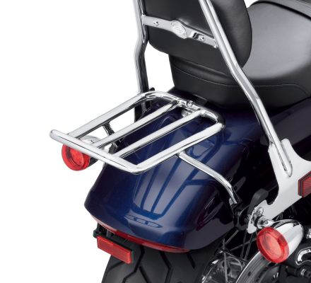 Chopped Fender Luggage Rack - Chrome, Harley-Davidson® 50300038