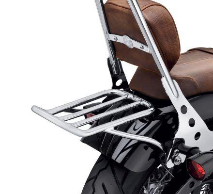 Chopped Fender Luggage Rack - Chrome, Harley-Davidson® 50300040