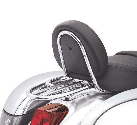 Chrome Luggage Rack for VRSC Models, Harley-Davidson® 51119-01A