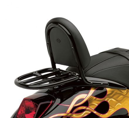Harley-Davidson® Gloss Black Luggage Rack for VRSC Models 51142-04A