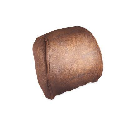 Distressed Brown Leather Passenger Backrest Pad, Harley-Davidson® 52300026