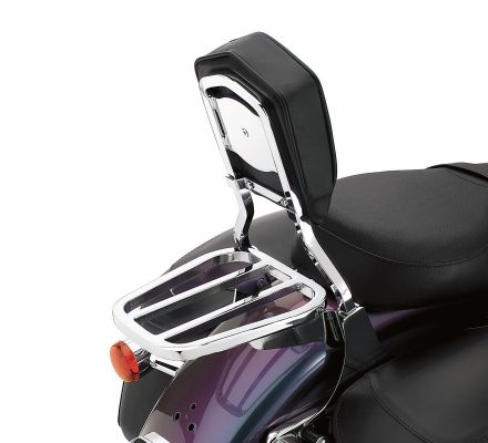 Chrome Tapered Luggage Rack, Harley-Davidson® 53718-04