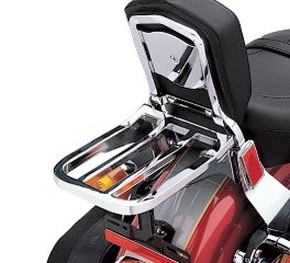 Four Bar Chrome Sport Luggage Rack