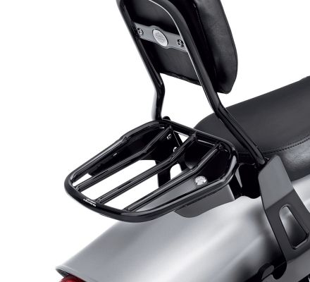Harley-Davidson® Custom Tapered Sport Luggage Rack- Gloss Black 54049-10