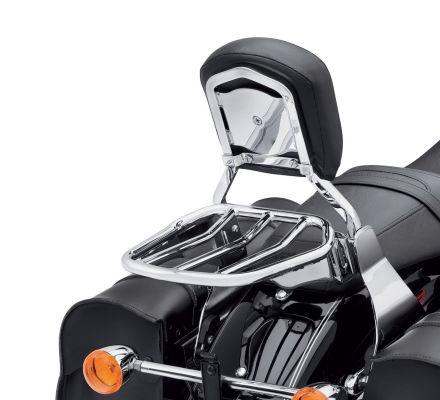 Custom Tapered Sport Luggage Rack- Chrome, Harley-Davidson® 54055-10