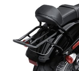 Chopped Fender Gloss Black Luggage Rack