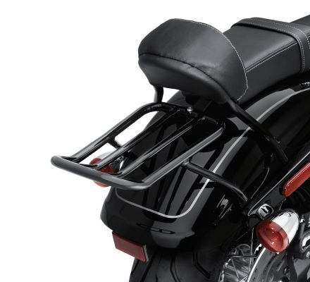 Harley-Davidson® Chopped Fender Gloss Black Luggage Rack 54252-10