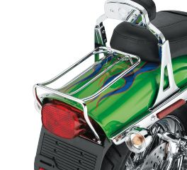 Chrome Bobtail Fender Rack