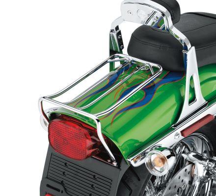Chrome Bobtail Fender Rack, Harley-Davidson® 56802-06A