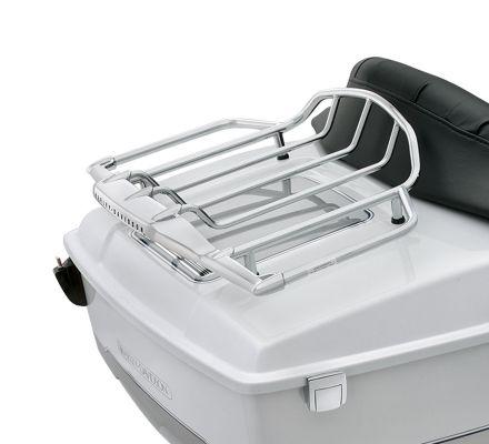 Air Wing Tour-Pak Chrome Luggage Rack, Harley-Davidson® 79179-08