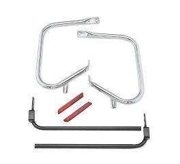 Chrome Rear Saddlebag Guard Kit