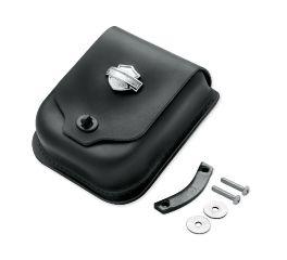 Bar & Shield Concho Leather Sissy Bar Bag