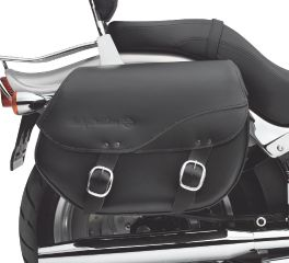 H-D Detachables Leather Saddlebags - Smooth