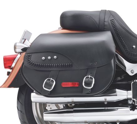 H-D Detachables Leather Saddlebags 88306-07A