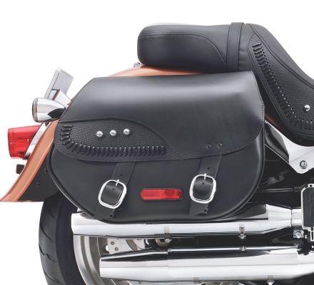 H-D Detachables Leather Saddlebags, Harley-Davidson® 88306-07A