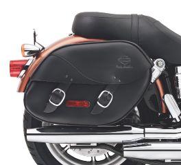 H-D Detachables Leather Saddlebags for Dyna Models