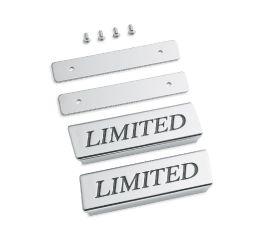 Saddlebag Lid Rail Limited Medallions