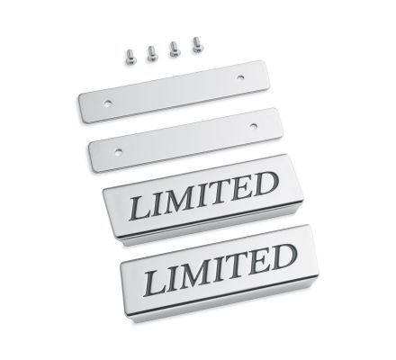 Saddlebag Lid Rail Limited Medallions, Harley-Davidson® 90200740