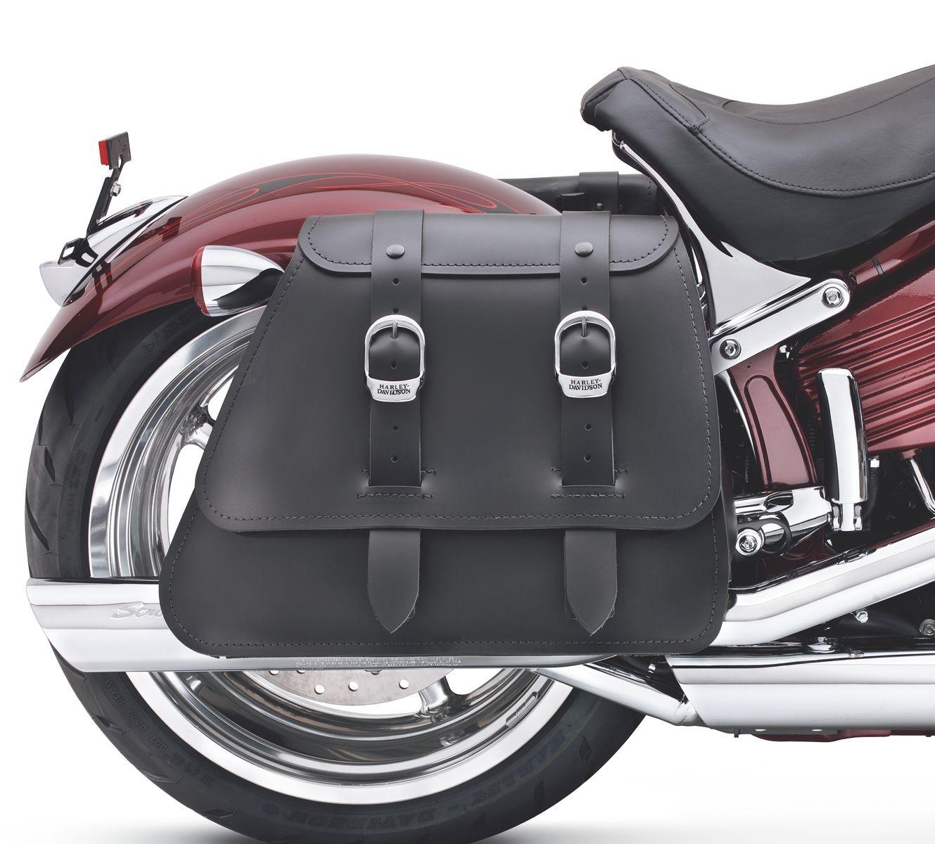 90240 08 Harley Davidson Leather Saddlebags Chester Protectant