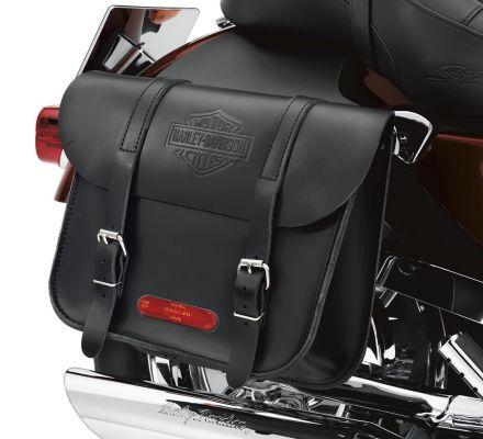 Leather Throw-Over Saddlebags, Harley-Davidson® 91008-82C