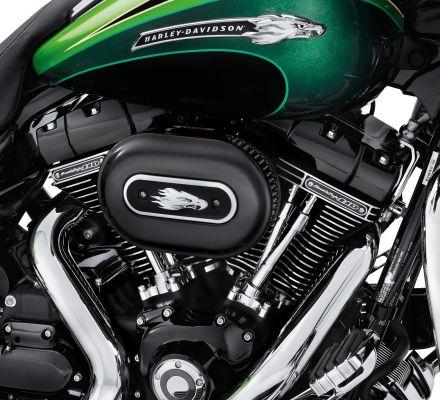 Harley-Davidson® Gloss Black Rocker Box Cover 17707-11