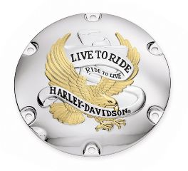 Harley-Davidson® Live To Ride Derby Cover 25127-04A
