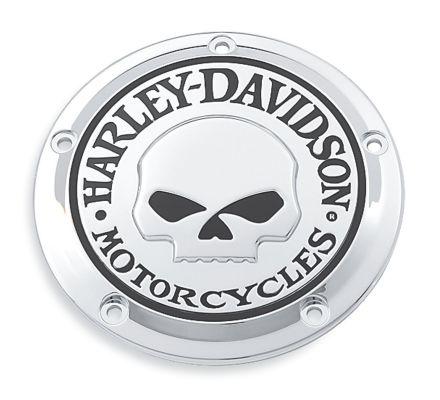 Harley-Davidson® Willie G. Skull Derby Cover 25441-04A