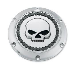 Harley-Davidson® Skull & Chain Derby Cover 25700257